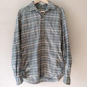 REI Men's Vented Travel Camping Outdoors Shirt